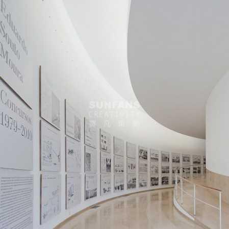 几乎是每个展馆设计都必备的时间轴,每次都被要求有新意,有创意,不要