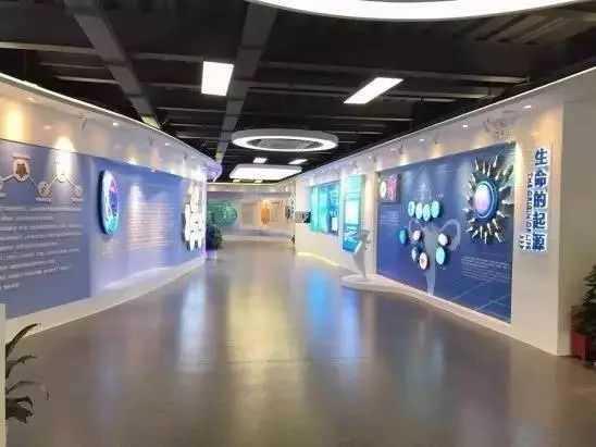 深圳人体细胞科技展览馆-展厅设计|企业展厅|展厅设计