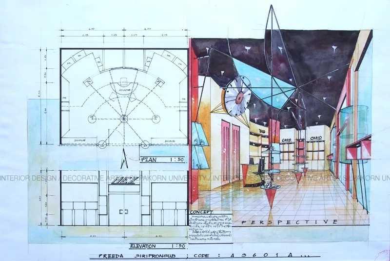 手绘展厅空间-展厅设计_企业展厅设计公司_一站式展馆